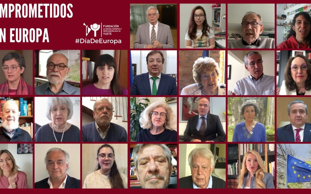 La Fundación Yuste celebra el Día de Europa enviando un mensaje de unión ante la adversidad
