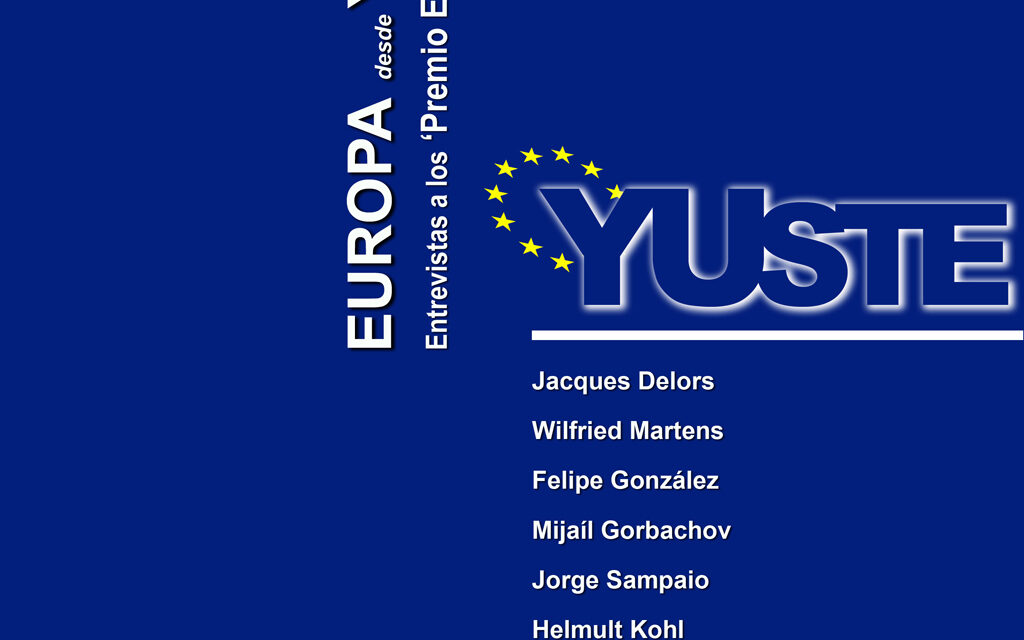 Europa desde Yuste. Entrevistas a los Premio Europeo Carlos V