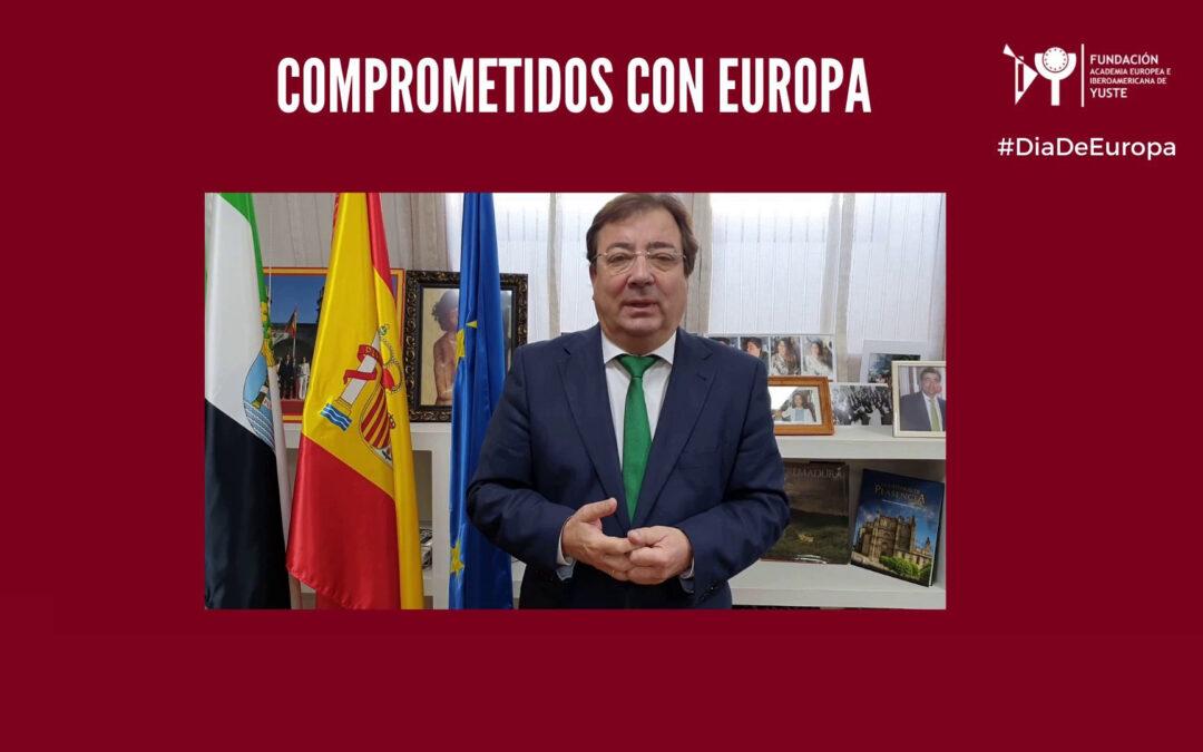 Mensaje del presidente de la Junta de Extremadura con motivo del día de Europa