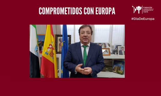 Message from the President of the Regional Government of Extremadura on the occasion of Europe Day