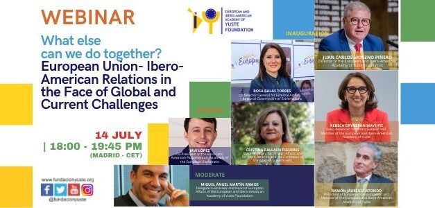 Webinar. What else can we do together? European Union- Ibero-American Relations in the Face of Global and Current Challenges