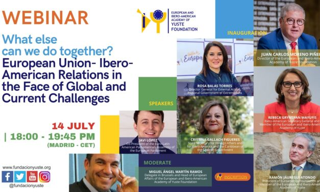 Yuste Foundation Organises a Webinar to Analyse Current and Future Relations Between the European Union and Ibero-America