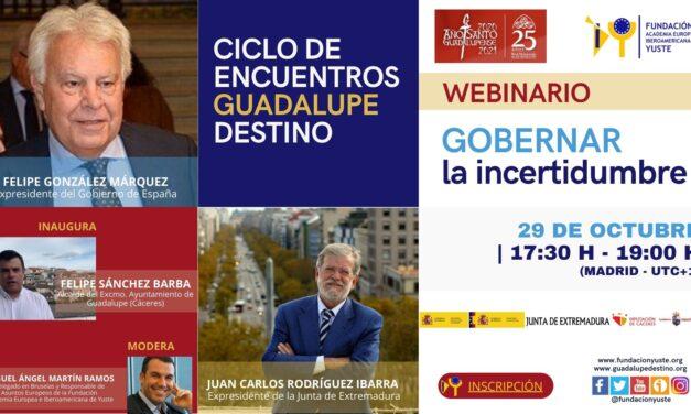 La Fundación Yuste organiza el 'Ciclo de Encuentros Guadalupe Destino' online para promover el diálogo sobre la gobernanza, la ciencia, la historia y la cultura