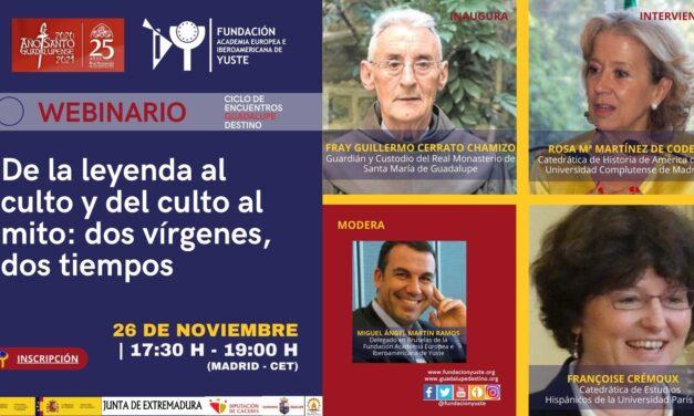 La Fundación Yuste organiza un seminario web que profundizará en la relevancia espiritual de Guadalupe y su influencia en la advocación mexicana