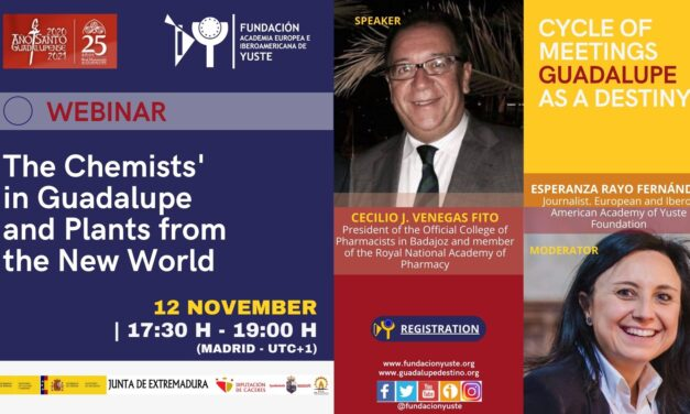 """WEBINAR """"THE CHEMISTS' IN GUADALUPE AND PLANTS FROM THE NEW WORLD"""""""
