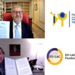 La Fundación Yuste y la Fundación Internacional EU-LAC firman un convenio de colaboración para desarrollar actividades que vinculen a los países de la Unión Europea, América Latina y el Caribe