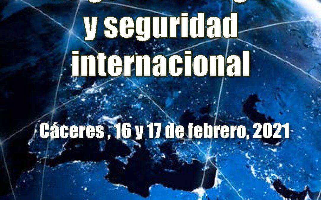 """VI Jornadas de Seguridad y Defensa """"CUESTIONES ACTUALES DE GEOESTRATEGIA Y SEGURIDAD INTERNACIONAL"""""""