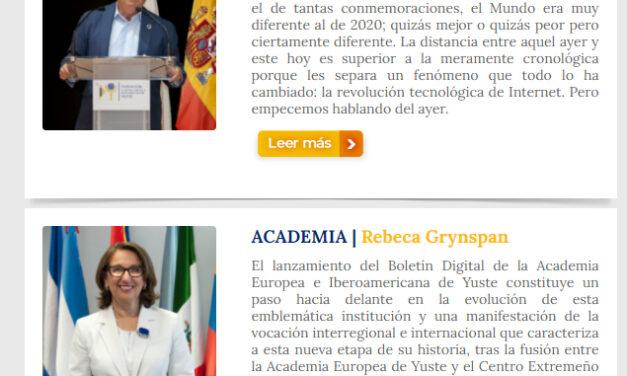 Boletín de la Academia de Yuste 2020