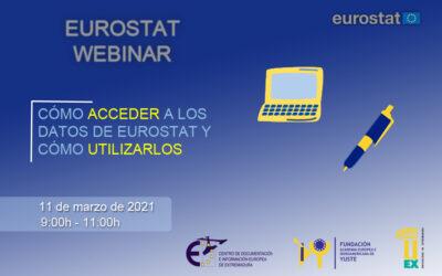 """Webinario «Cómo acceder a los datos de EUROSTAT y cómo utilizarlos"""""""