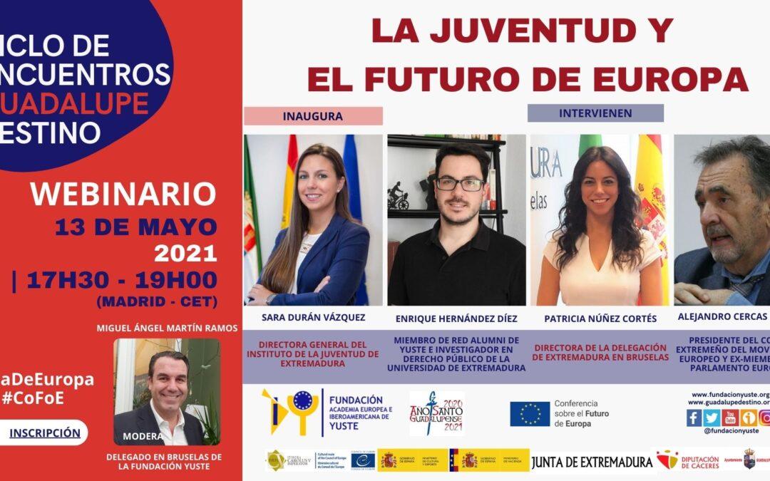 El papel de la juventud en el futuro de Europa a debate en un nuevo encuentro de la Fundacion Yuste