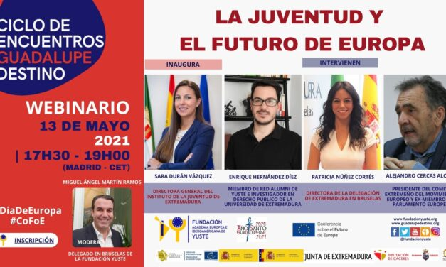 Webinario «La juventud y el futuro de Europa»