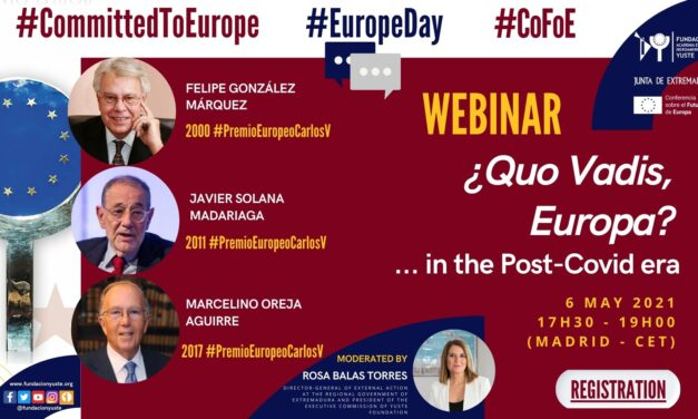 Yuste Foundation Brings Felipe González, Javier Solana and Marcelino Oreja Together in Order to Discuss the Future of Europe