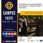 Sigue en directo la segunda sesión del curso «DIPLOMACIA EN LOS MUNDOS DE CARLOS V: NEGOCIACIÓN Y DIÁLOGO»