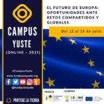 Sigue en directo la primera sesión del curso «EL FUTURO DE EUROPA: OPORTUNIDADES ANTE RETOS COMPARTIDOS Y GLOBALES»