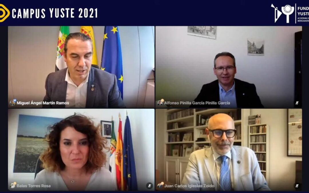 Campus Yuste analiza el futuro de Europa, las oportunidades que se abren ante retos globales