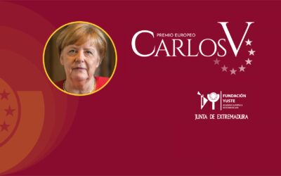 Angela Merkel, 14th Carlos V European Award
