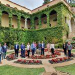 La Fundación Yuste acoge la 'I Reunión Interinstitucional del programa de cooperación a través de itinerarios y rutas culturales euro-iberoamericanas'