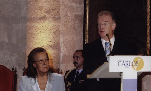 La Fundación Yuste lamenta el fallecimiento de Jorge Sampaio, Premio Europeo Carlos V